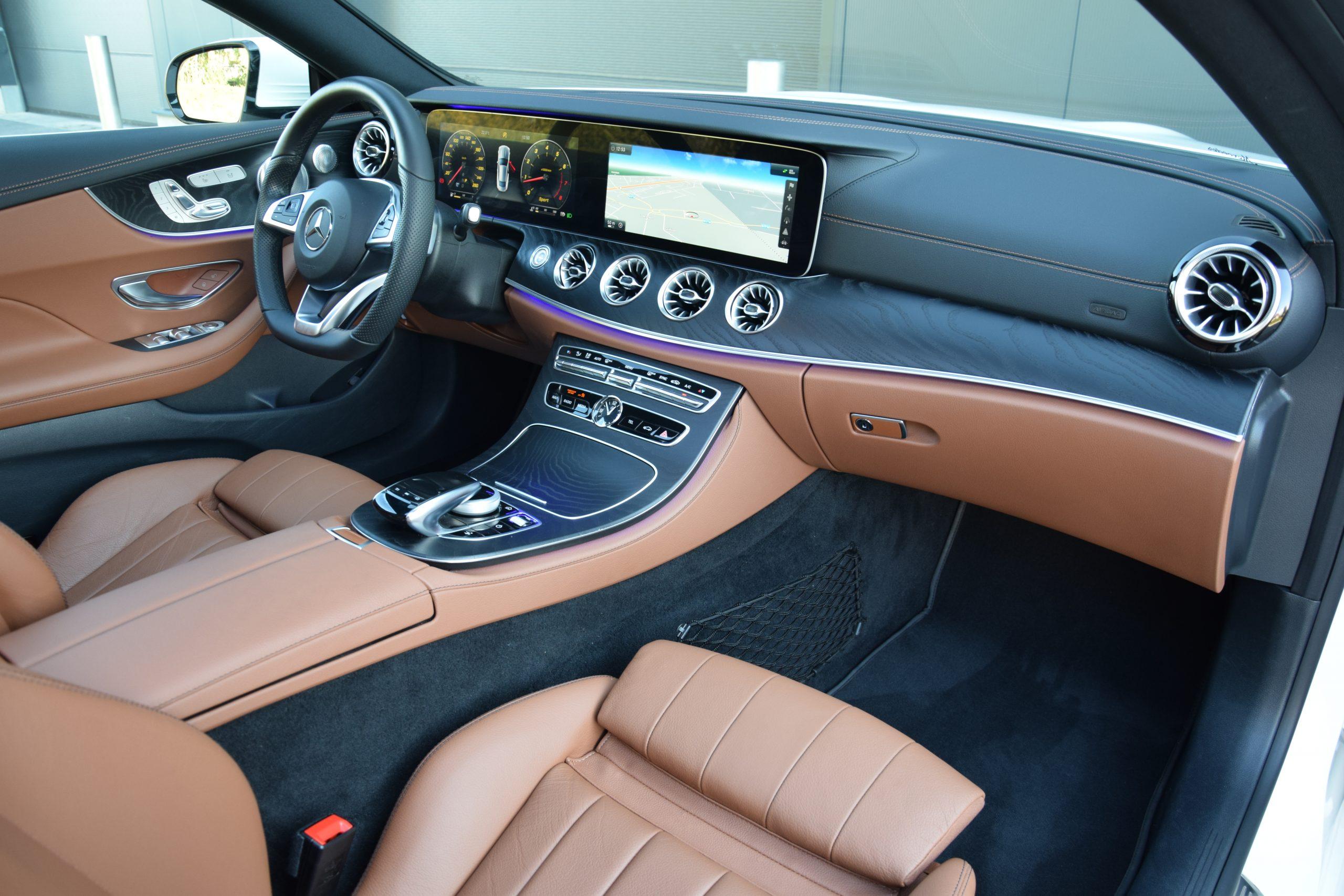 Mercedes-Benz E200 AMG-Line Coupé 05/2017 – Widescreen!