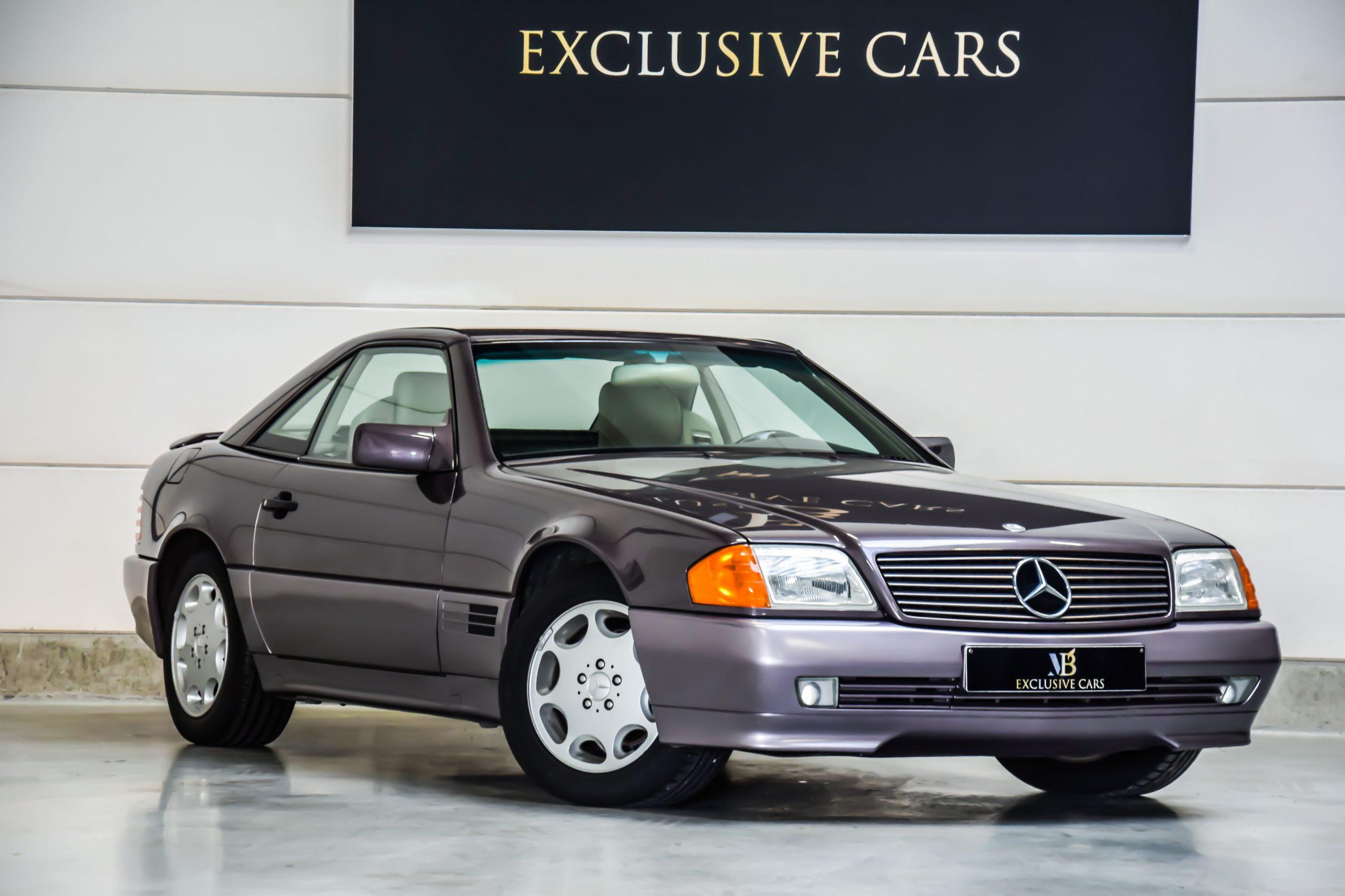 Mercedes-Benz SL 280 Carbrio Hardtop – 1 eig – Belgische wagen – 84.000 km!!