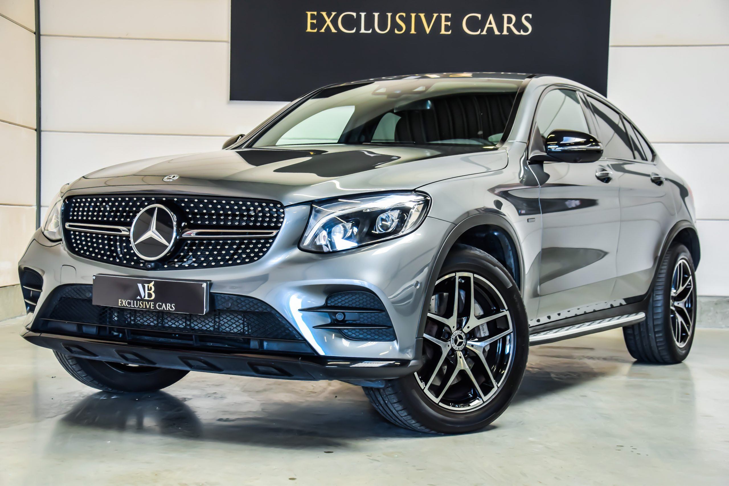 Mercedes-Benz GLC 350e Plug-In Hybride Coupé AMG-Sportpakket 01/2018 – Full Option!!