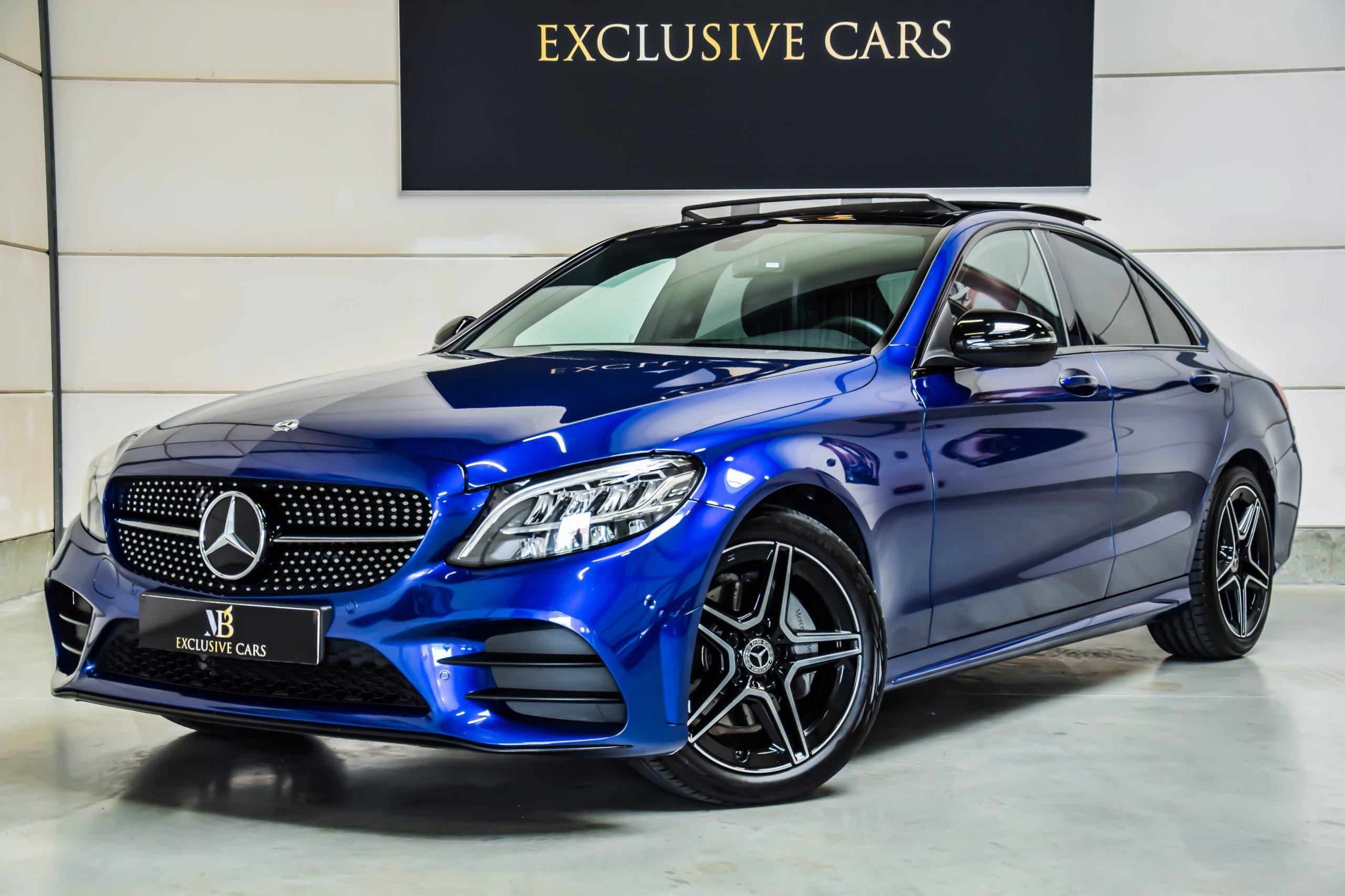 Mercedes-Benz C200d AMG-Pakket 06/2019 – Night Edition!!