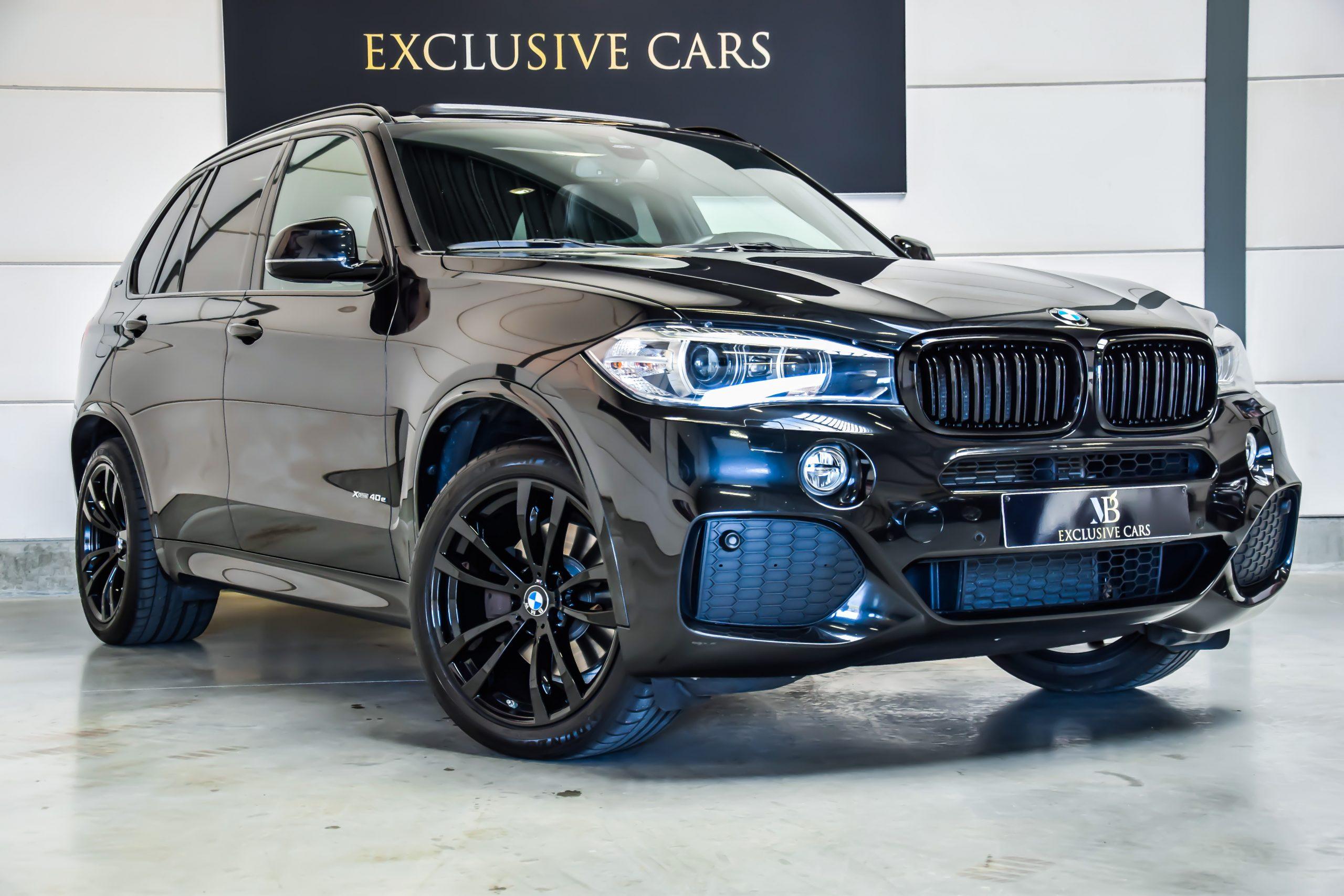 BMW X5 2.0A xDrive40e M-Sportpakket Black Edition 12/2017